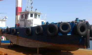 作業船件引船